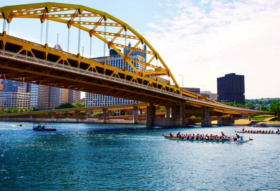 Dragon Boat in Pittsburgh