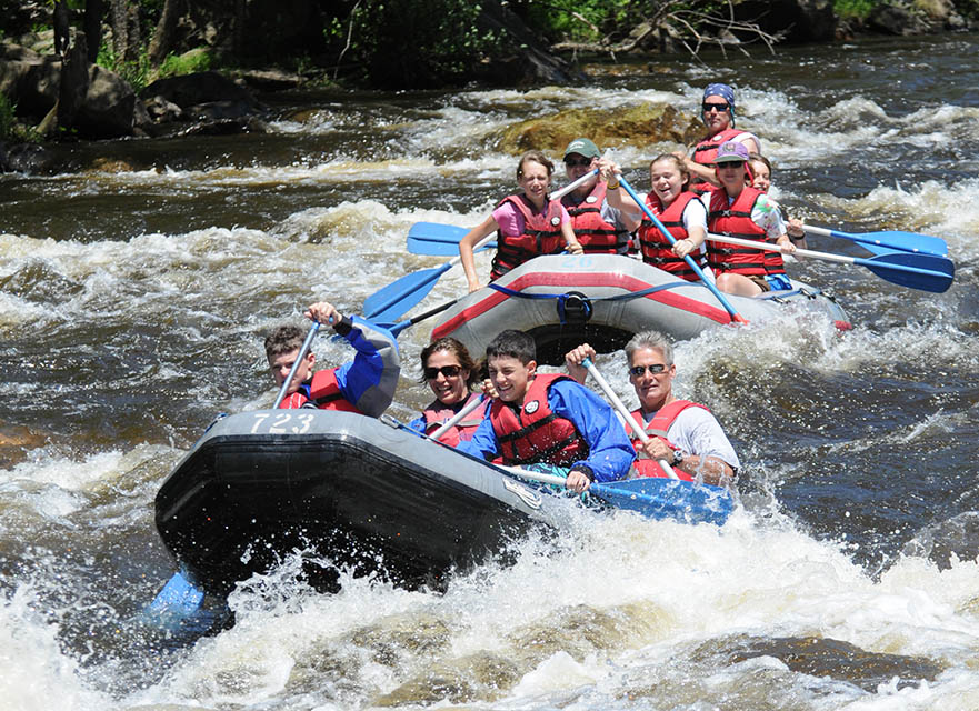 Whitewater Rafting in Lehigh River