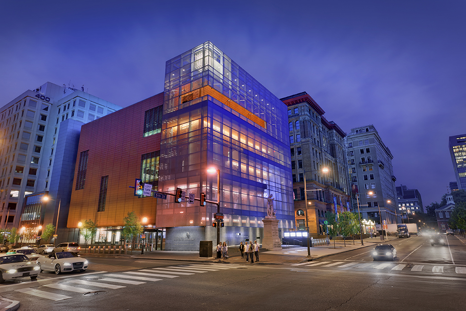 Exterior Photo of National Museum of American Jewish History